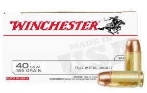 WINCHESTER AMMO 40SW 165 gr FMJ Police Trade-in Ammo 50/Box 000010272370