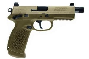 FNH FNX-45 Tactical .45 ACP Flat Dark Earth with Night Sights (LE) 000010277403