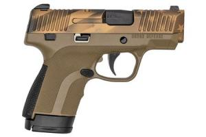 HONOR DEFENSE Honor Guard 9mm Sub-Compact Pistol with FDE Frame and Bronze USA Cerakote Slide (Blemished) 000010354602