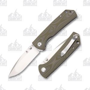 Kizer V3 Vigor VG-10 Stainless Steel Blade Green G-10 Handle V3403N2