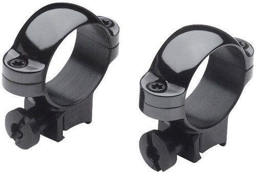 Burris Airgun/Rimfire Deluxe Steel .22 Rings - High, Gloss Black 420073