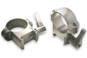 BURRIS Burris Zee Rings 1 inch Medium Nickel Finish 420085