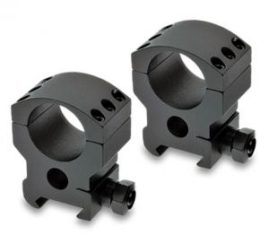 Burris Xtreme Tactical Picatinny Rail 30mm Riflescope Rings Pair, High 1.35 in, Black 420164 420164