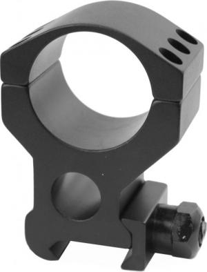 Burris Xtreme Tactical Picatinny Rail 30mm Riflescope Ring, Single, Extra High 1in, Black 420167 420167