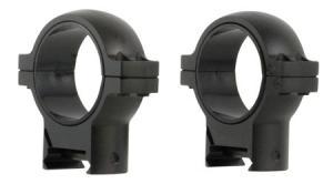 Burris 420587 Zee Ring Set 30mm Dia High Black Matte 420587