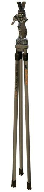 Primos Hunting Trigger Stick Gen 3 Jim Shockey Tall Tripod,24-62in,Truth Camo,Clam, 65815 65815