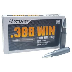 Century Arms HotShot 308 Winchester 150 Grain Full Metal Jacket 500 Rounds AM2039