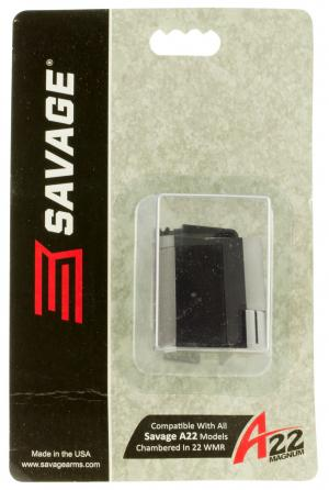 Savage A22 Replacement Magazine Black .22 Mag 10Rds 47205