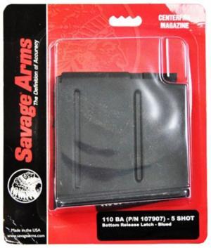 Savage 55191 110BA/111 LR Hunter 300 Winchester Magnum 5 Rd Matte Blued Finish 55191