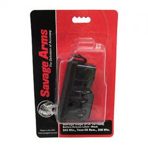 Savage Magazine AXIS 243/7MM08/308 Black 55232