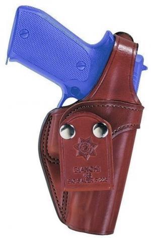 Bianchi 3S Pistol Pocket Holster, Plain Tan, Left Hand - Ruger SP101 2-2.5in and Similar - 18019 013527180193