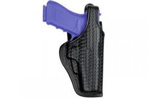 Bianchi 7920 Defender II Duty Holster - Plain Black, Left Hand 22019 013527220196