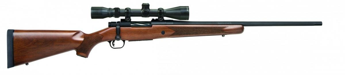 Mossberg Patriot Bolt-Action Scoped Combo Blued/Walnut .22-250Rem 22-inch 5 Rds 015813278423