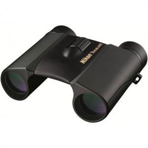 Nikon Trailblazer 10x25 ATB Binoculars, Roof Prism, Waterproof, Matte Black, 8218 018208082186