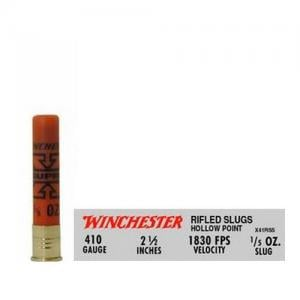 Winchester Super-X .410Bore 2.5-inch 1/5oz Rifled Slug 5Rds X41RS5