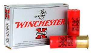Winchester Super-X 12GA 2.75-inch 4BK 27 Pellets 5rds XB124