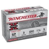 Winchester Super-X Turkey 12 GA 3-inch #5 10Rds X123MT5