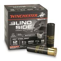 "Winchester Blind Side, 12 Gauge, 3 1/2"", 1 5/8 oz., BB, 25 Rounds SBS12LBB"