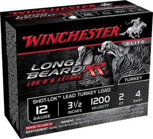 Winchester Turkey L BEARD 12GA 3.5-inch #4 STLB12L4