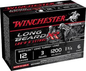 Winchester Turkey L BEARD 12GA 3\#6 STLB1236