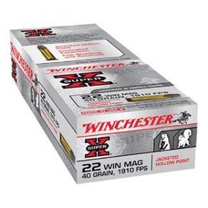 Winchester Super-X .22WMR 40GR JHP 50rds X22MH