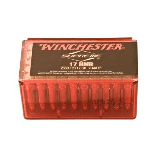 Winchester Supreme .17 HMR 50 Rd 020892102491