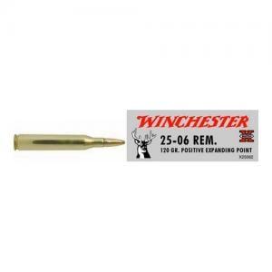 Winchester Super-X, 25-06REM, 120 Grain, Positive Expanding Point 20rds X25062