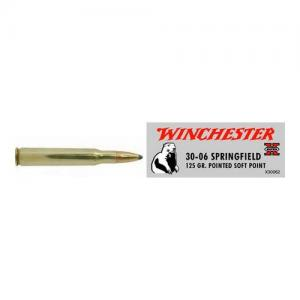 Winchester Super-X 30-06SP 125GR Pointed Soft Point 20rds X30062