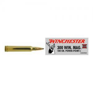 Winchester Super-X .300WinMag 180GR PP 20Rds X30WM2