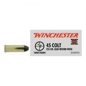Winchester Super-X 45LC 255GR Lead Round Nose 20rds X45CP2