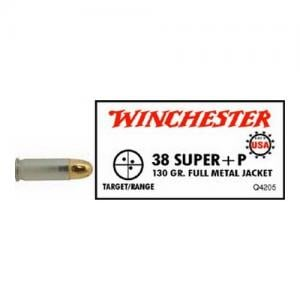 Winchester USA 38SUP +P 130GR FMJ 50rds Q4205