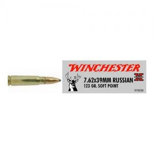 Winchester Super-X 7.62X39MM 123GR SP 20Rds X76239
