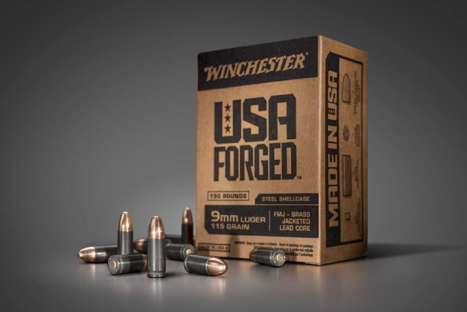 Winchester USA Forged 9mm 115GR FMJ 150Rds 020892222151