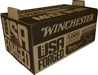 Usa Forged Pistol Ammo 9mm, Steel Casing, 115 Gr, 1190 Fps, Stack And Carry 1,000 Rnd Box WIN9SK