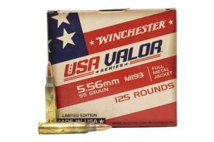WIN USA193125 5.56 M193 55 FMJ 125/10 USA193125