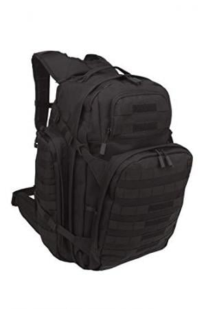 SOG Barrage Tactical Internal Frame Backpack, 64.3-Liter Storage, Black 020968606816