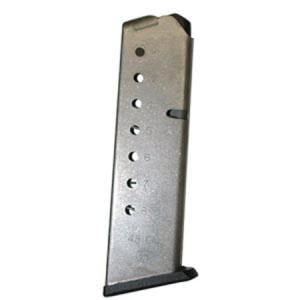Smith and Wesson 1911 Magazine Stainless Steel .45ACP 8rd 19110