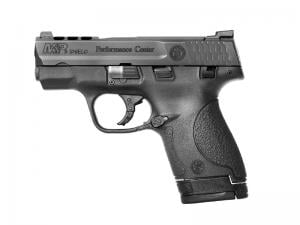 Smith and Wesson M&P 9 Shield Performance Center Black 9mm 3.1-inch 8Rd Ported Slide Night Sights 022188869330