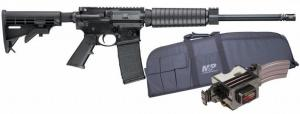 Smith and Wesson M&P 15 Sport II Optic Ready .223 Rem / 5.56 16-inch Barrel 30 Rounds Promo Kit w/ Case and Mag Charger 12306