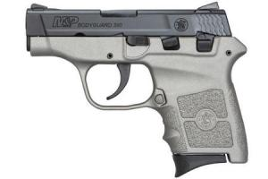 SMITH AND WESSON MP Bodyguard 380 Carry Conceal Pistol with H152 Stainless Cerakote Finish 12397