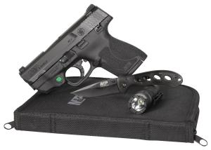 Smith and Wesson M&P 9 Shield 2.0 with EDC Kit Black 9mm 3.1-inch 8Rds 022188876048