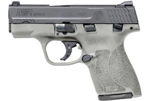 SMITH AND WESSON MP9 Shield M2.0 Carry Conceal Pistol with H152 Stainless Cerakote Finish 12398
