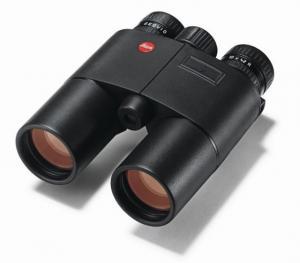 Leica 10x42 Geovid-R - Yards w/ EHR, BLK 40428 40428