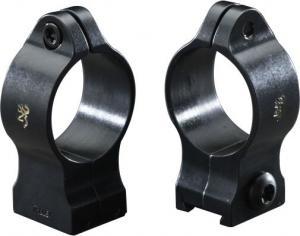 Browning Scope Rings - 1in Standard per pair - High Lustre 12340 023614201557