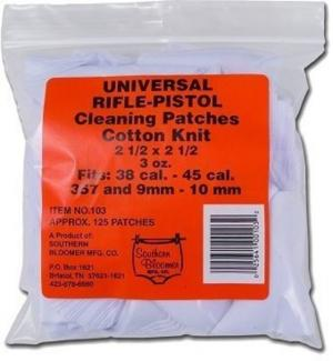 Southern Bloomer Universal Rifle/Handgun Cleaning Patches 130 Count 103 103