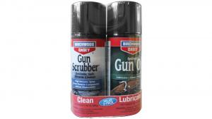 Birchwood Casey 33302 Gun Scrubber/Synthetic Gun Oil Aerosol Combo 2-Pack 33302