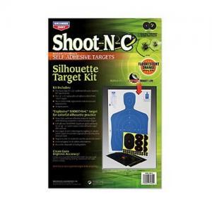 Birchwood Casey SOK2 Shoot-N-C 12X18 SIL Kit 2-pack 34602
