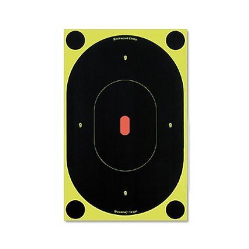 Birchwood Casey B276 Shoot-N-C 12X12 OVL Target 5 Pack 349056