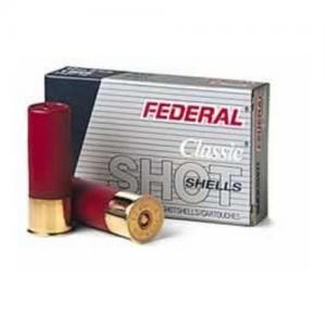 Federal PWRSHK 12GA 2.75 MX #4 BCK 5rds F1274B