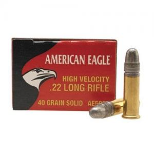 Federal American Eagle .22LR 40GR Solid Lead 50Rds AE5022